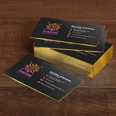 Painted Edge Business Card Printing